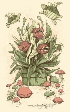 8Bit Botanical