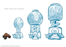 Blaze and the Monster Machines - Concept Art