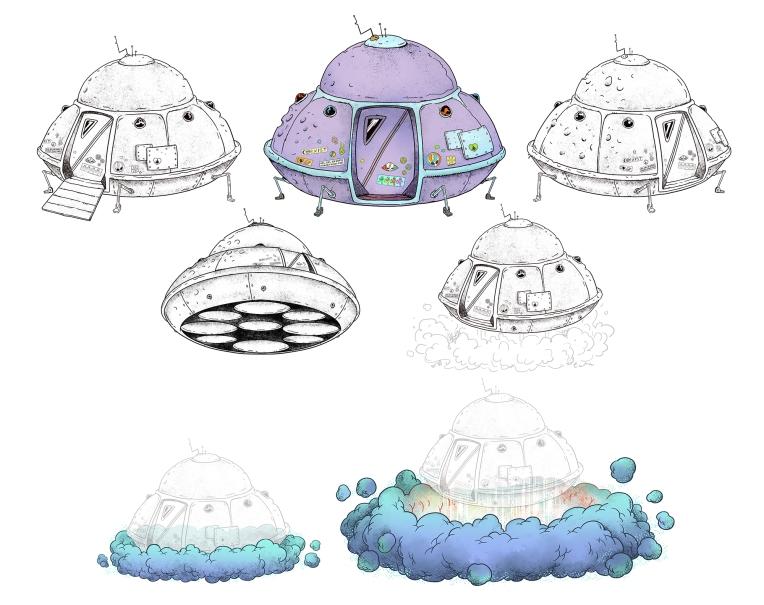 UFO Prop