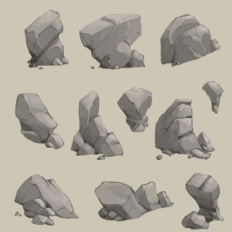 rocks design